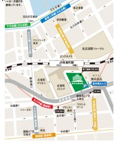 東京交通会館の地図