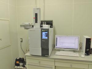 試験室の一画