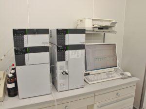 試験に使われる機械