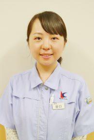 株式会社コージン 総務 谷口絵梨子さん