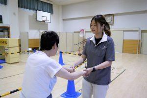 歩行訓練のサポート