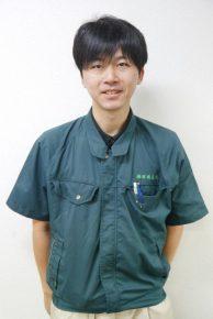 品質・アフター管理 徳道翔兵さん(28)