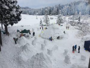 冬の種地区を舞台にした「雪のゆうえんち」