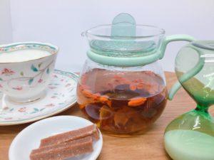 クロポッケブレンド薬膳茶(650円)