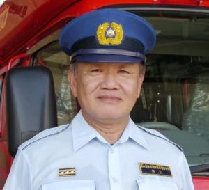上市消防署長 井上 寛さん